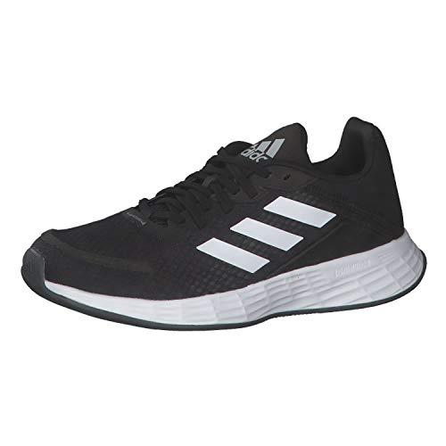 adidas Duramo SL Running Shoe, Core Black/Cloud White/Grey, 38 EU
