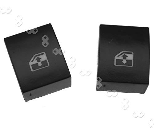 2 interruptores basculantes eléctricos para ventana de coche
