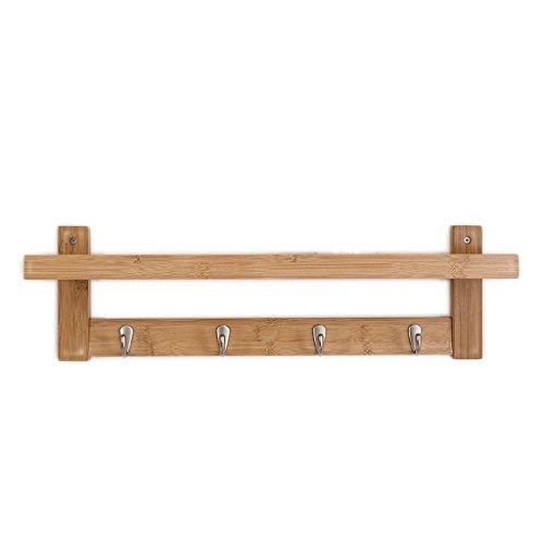 WT-haak Creatieve wandhanger Entree muur massief houten kapstok Slaapkamer kledinghaak Kleren rekken