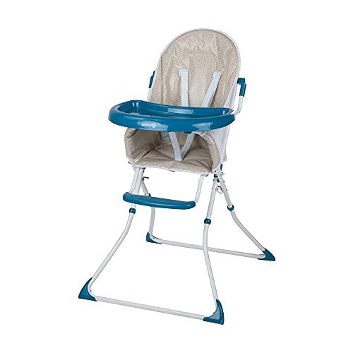 Safety 1st Kanji Chaise Haute Enfant Pliable, de 6 mois à 3,5 ans, Happy Day2