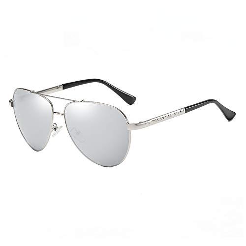 Gafas de sol Gafas de sol for hombres efectiva antideslumbrante del marco de conducción gafas de sol polarizadas flexible adecuado for los tipos de cabeza múltiples for Ciclismo Pesca ( Color : Gray )