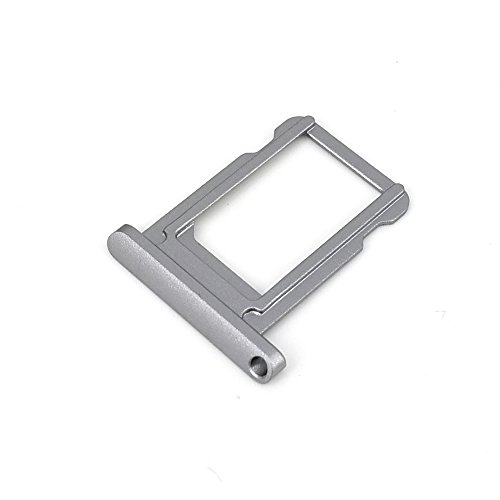 E-repair SIM Card Tray Holder Slot Replacement for Ipad Pro 9.7 inch (Grey)