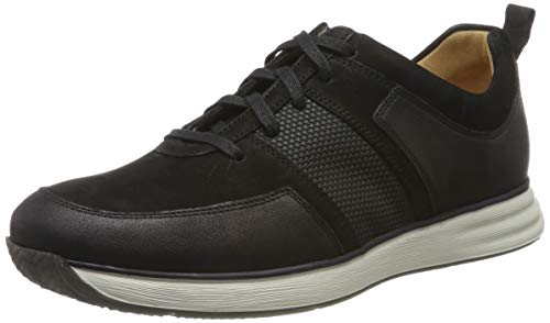Ganter Herren Gideon-g Sneaker, Schwarz (schwarz 0100), 39 EU (6 UK)