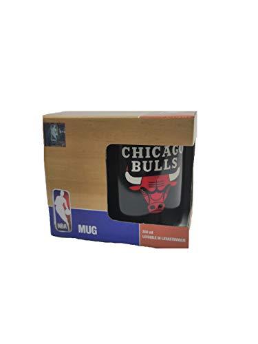 Franco Panini. Tazza Mug NBA Chicago Bulls Colazione 350 ml in Porcellana Prodotto Ufficiale