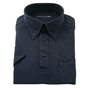 BUSINESSMAN SUPPORT(ビジネスマンサポート) ワイシャツ 半袖ポロシャツ メンズ クールビズ 吸水 速乾 消臭 ノーアイロン ps05-74-222ss-m