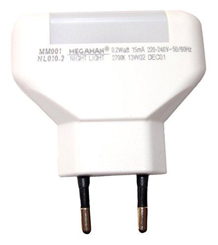 Megaman MM001 Nachtlicht 0,2W Warmweiß