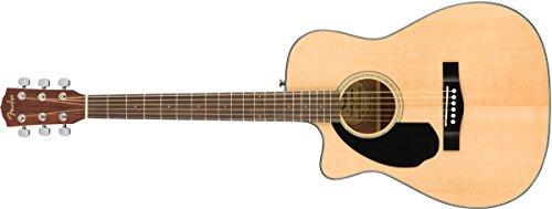 Fender CC-60SCE Concert Acoustic Guitar - Natural - Left-Handed