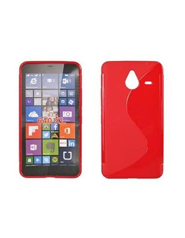 Vermelho Silikonschicht Typ S Lmobile Microsoft Lumia 640 XL - transparent