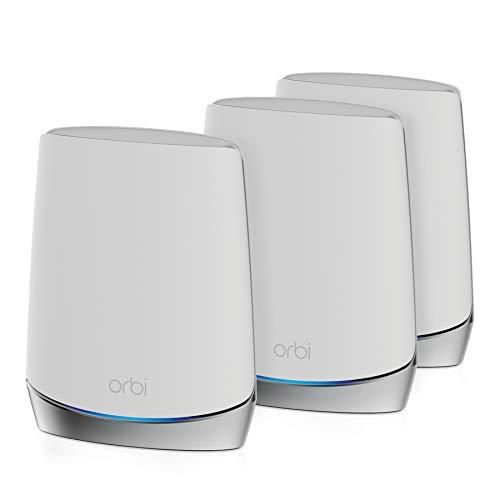 Netgear Orbi WiFi 6 AX4200 routeur + 2 satellites (RBK753-100EUS)