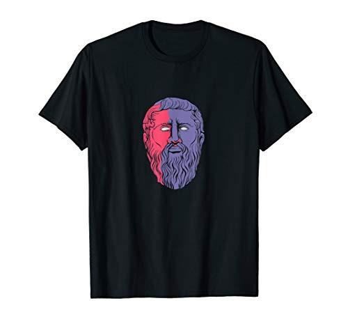 Platon griechischer Philosoph Geschenk Philosophie T-Shirt