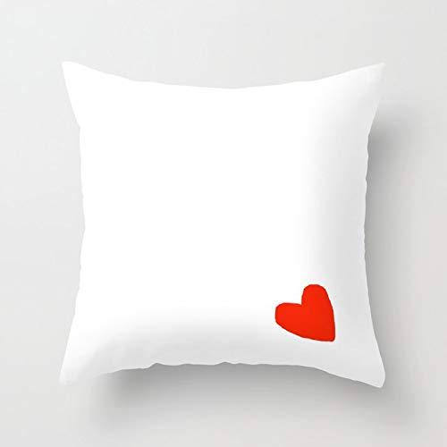PPMP Funda de cojín de línea mínima Abstracta, Funda de Almohada para el hogar, decoración de sofá, Funda de Almohada Cuadrada, Funda de cojín A11 45x45cm 2pcs