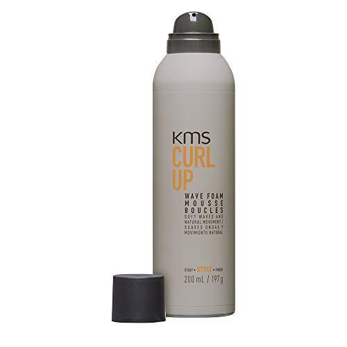 KMS California Curl Up Wave Foam, 1er Pack (1 x 200 ml)