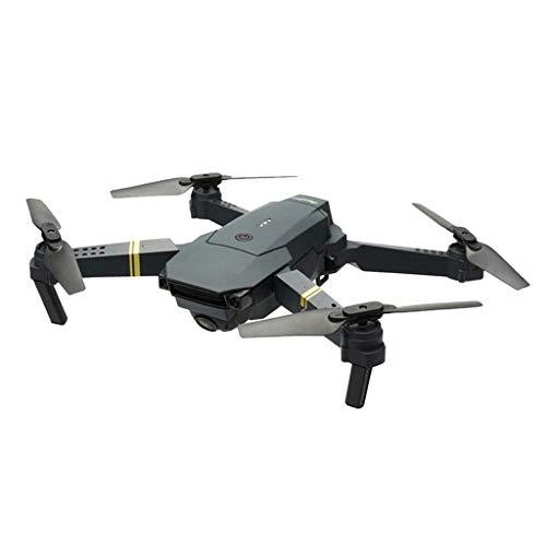 Generic Drohne mit Kamera E58 Live Übertragung, Weitwinkel HD Kamera, WiFi FPV Quadrocopter, App-Steuerung, One Key Start/Landung,Drohne für Anfänger - Schwarz, 1080P