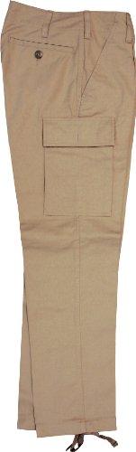 Leo Köhler Bundeswehr Feldhose Original Moleskin Khaki, Größe:30 (BW Größe 30K)