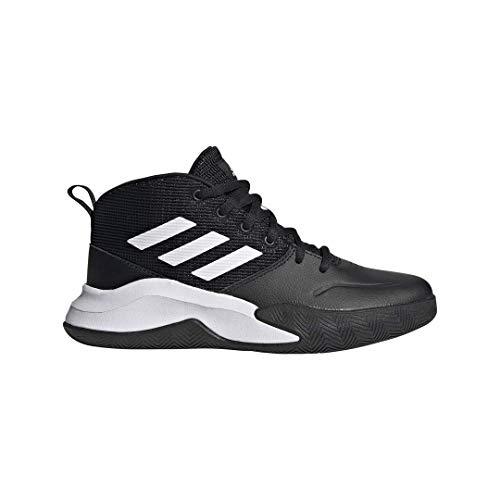 adidas Own The Game Wide ShoesBlack/White/White11
