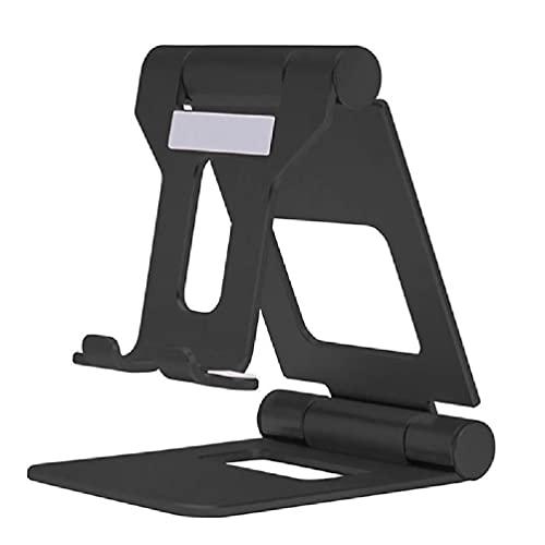 Soporte de teléfono celular multi-ángulo durable soporte para el escritorio universal compatible de iPad Pro 10 pulgadas a pequeño Smartphone plegable Tablet titular para escritorio