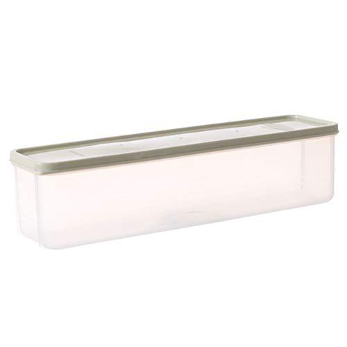 TOPBATHY Koelkast Opslag Bins Koelkast Organisatie Vriezer Opslag Containers met Deksel (Lichtgroen)