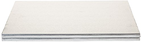 Decora 0931252 CF 2 CAKEBORD RECHTECKIGE Silver 30X40 cm