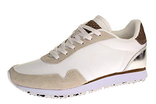 Woden Sneakers Nora III, color Blanco, talla 38 EU