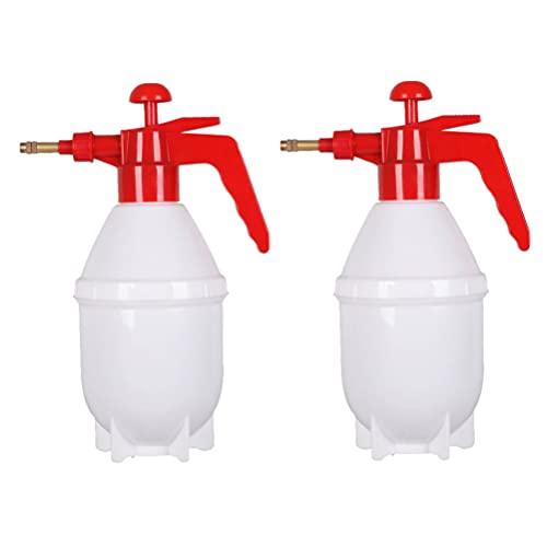 BESTonZON 2St Vatten Mister Spray Flaska 0 8L en Hand Tryck Växtvattning Med Justerbar Munstycke För Växter Trädgårdsgödsel Tvätt