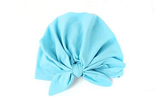 Nieuwe Baby Producten Baby Boog Hoed Baby Haaraccessoires Kinderhoed Blauw