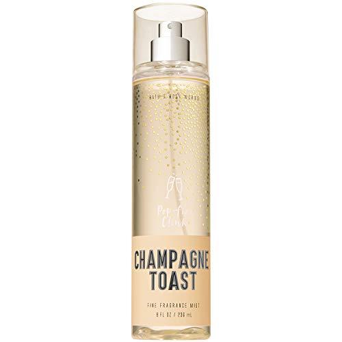 Bath and Body Works CHAMPAGNE TOAST Fine Fragrance Mist 8 Fluid Ounce (2018...