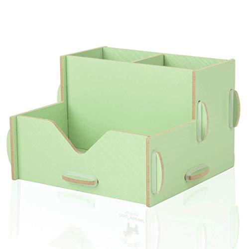 ETJar Diagonal Insert Mädchen Handgemachte Feder-Halter Material Bleistift-Kasten Hausgemachte Textbox Supplies Pulver Typ (Farbe: B),C