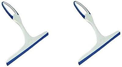 Fashion Bizz Set of 2 Glass Cleaning Wiper (Multicolour) for Car,Kitchen Glass Wiper, Small Wiper Hand Wiper