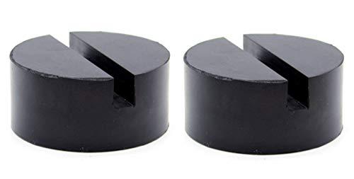 TK.Felly ジャッキパッド ゴム リフト アップ ラバーバッド 溝付き アダプター ジャッキ用品 パット 2個セット