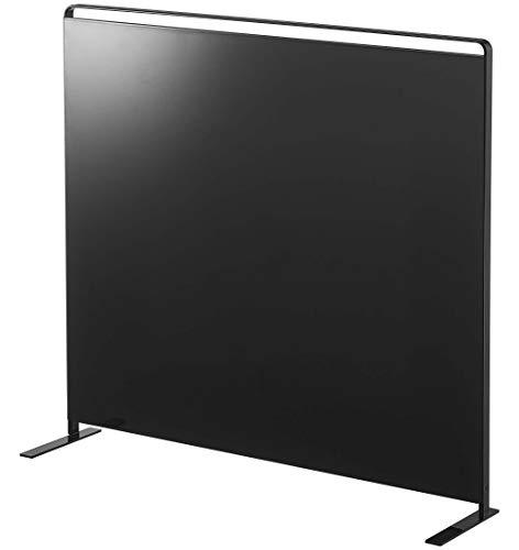 山崎実業(Yamazaki) キッチン 自立式 スチールパネル 縦型 ブラック 約W56XD14XH51.5cm タワー 浮かせる収納 簡単取り付け 5125