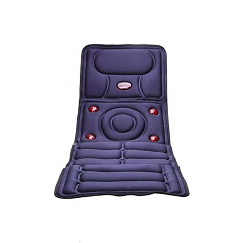 Vibration Massage Cushion Electric Back Chair Portable Home Car Office Neck Lumbar Waist Pain Relief Seat Pad Relax Mat