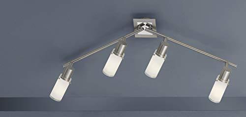 FLI Strahlerbalken Malenka Chrom Weiß | Inklusive Leuchtmittel: E14 11W 540lm | 210004