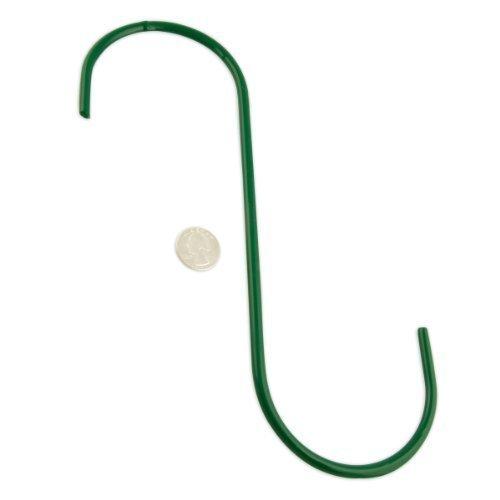 JUMBO Lot de 10 crochets en S Acier revêtement PVC-Lot de 5 plantes de Serviettes