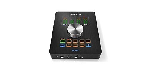 Motu Track16Schnittstelle Audio Desktop mit Auswirkungen und Mixing
