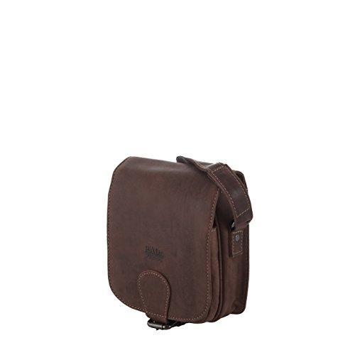 Rada Nature Überschlagtasche Damen, stylische Umhängetasche, Schultertasche aus echtem Leder in verschiedenen Farben