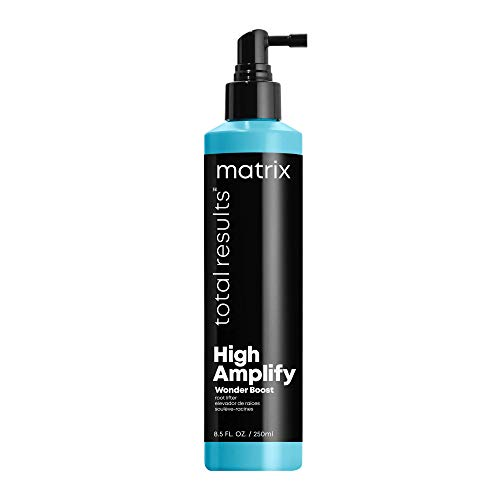 MATRIX Total Results High Amplify Wonder Booster Root Lifter Spray   Provides Extreme Lift & Volume   for Fine Hair   8.5 Fl Oz