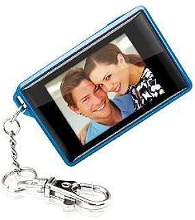 Coby Digital Photo Keychain DP-161 Blue
