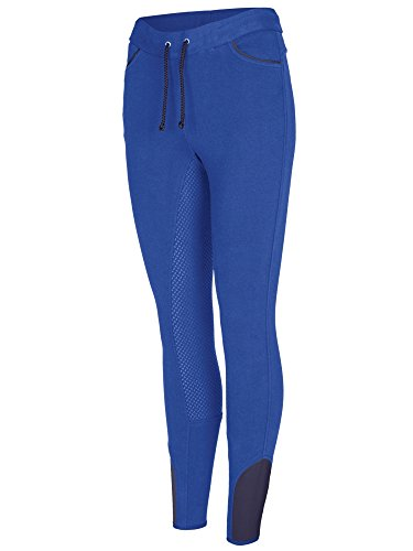 BUSSE Kinder Vollbesatz Reit-Leggings LISSY KIDS, 146, diva blue (navy)