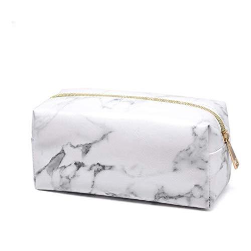 Sherineo Bolsas de Maquillaje PU Cuero Impermeable Casos de Maquillaje cosmético Portable de Mano del Organizador