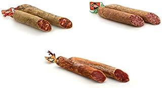 comprar comparacion Trío de embutido de Lomo, Chorizo y Salchichón Ibérico de Bellota - Medias piezas- CESAR NIETO