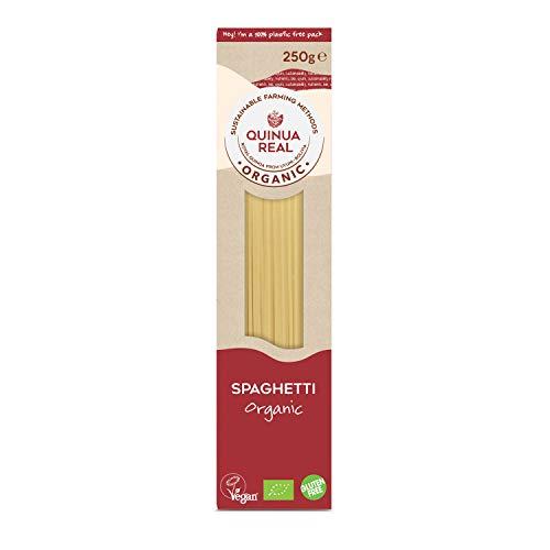 Quinua Real Espaguetis de Arroz y Quinoa, 250g
