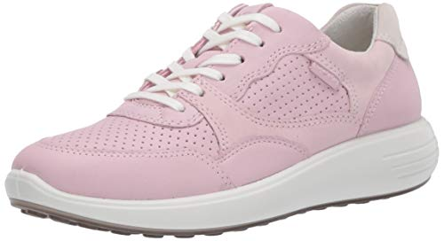 ECCO Damen SOFT7RUNNERW Sneaker, Pink (Blossom Rose/Blossom Rose/Shadow White 51725), 37 EU