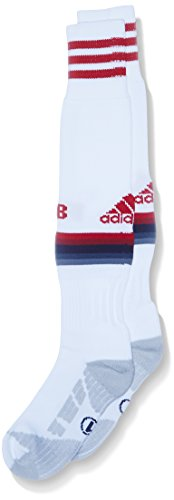 adidas Herren Socken FC Bayern München Replica Spieler-Auswärtssocken 1 Paar, White/Power Red/Night Navy/Bold Onix, 46-48