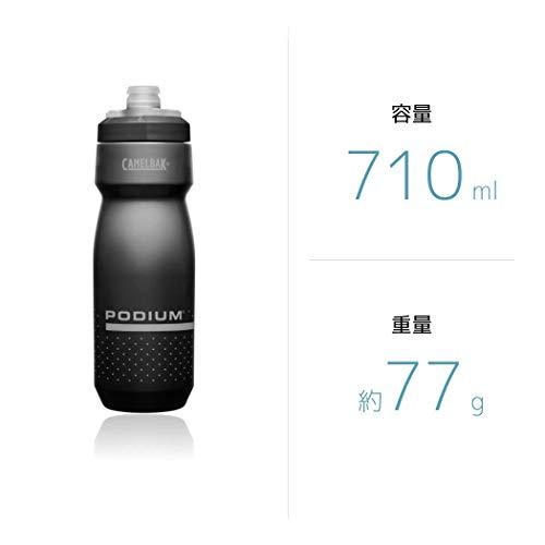 CAMELBAK(キャメルバック)ポディウム自転車用ボトルやわらかい飲みやすい710ml(24oz)ウルトラマリン/ピンク18892151