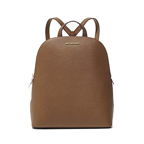 Mochila Michael Kors Cindy Couro Saffiano Luggage Marrom
