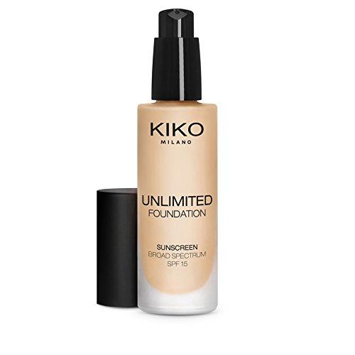 Base de maquillaje líquida de KIKO MILANO. Larga duración