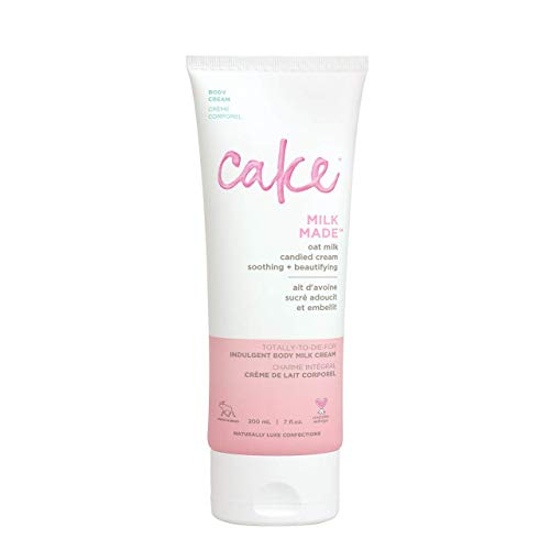 Cake Beauty, Shea Butter Body Cream Body Lotion For Women Dry Skin, Basic, Milk Made Indulgent, 7 Fl Oz