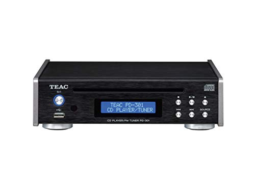 Teac PD-301DAB High End CD-Spieler inkl. DAB/UKW-Tuner, Schwarz