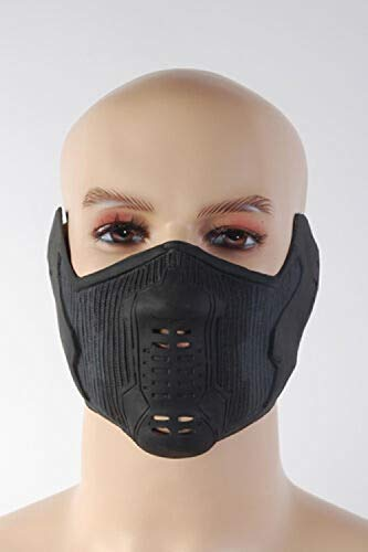 XWYWP Máscara de Halloween Cosplay Soldado de Invierno Máscara de Látex Cosplay Máscara de Halloween Accesorios