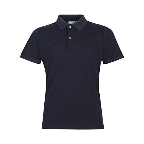 Mammut Herren Polo-shirt Logo Pique, schwarz, L